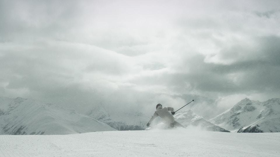 Spada – The mountain, in a ski