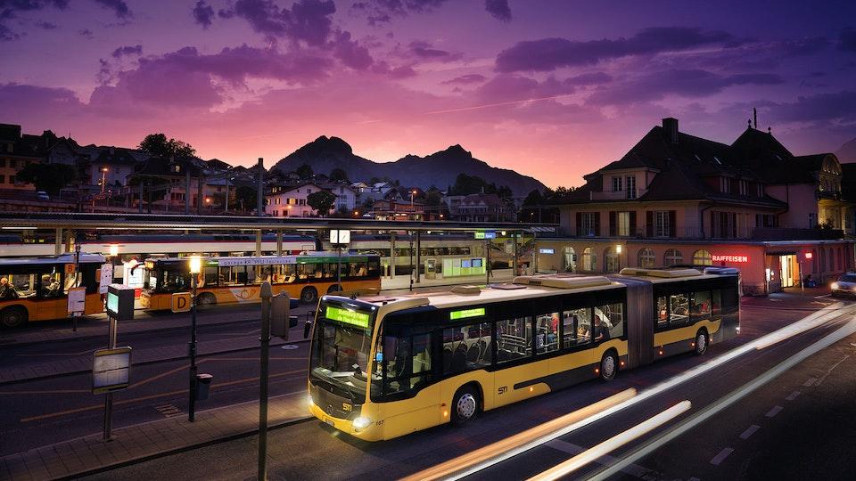 STI Busbetriebe Thun - STI Bus Thun © 2019 Daniel Reichenbach