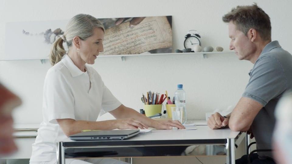Patrick Sunier erzählt - Spitalzentrum Biel: Stroke Unit