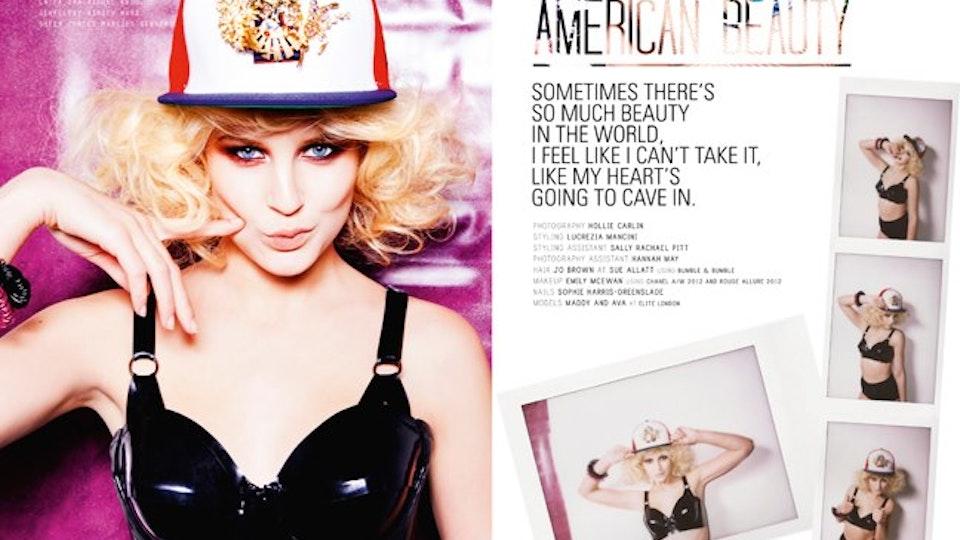 SUITCASE MAGAZINE - 'American Beauty'