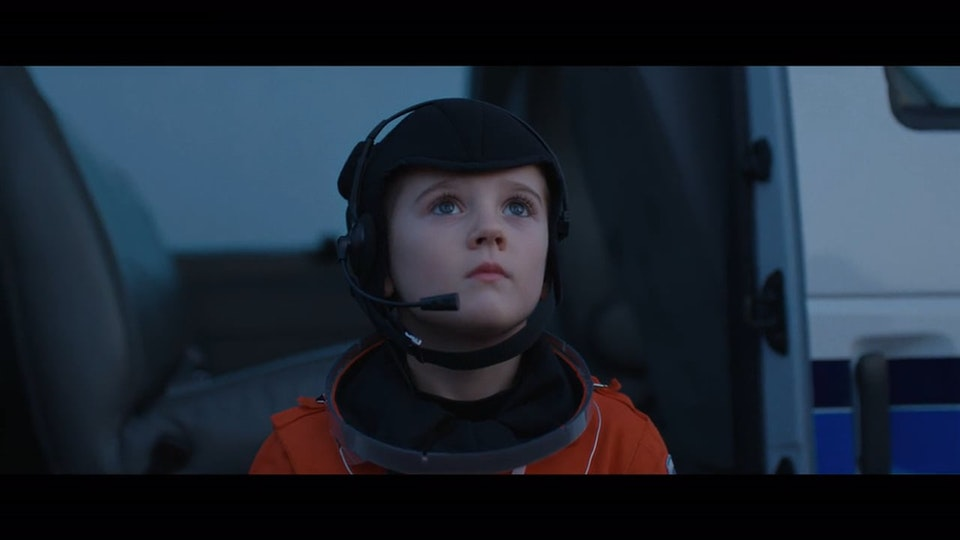 NSPCC 'Alfie The Astronaut'