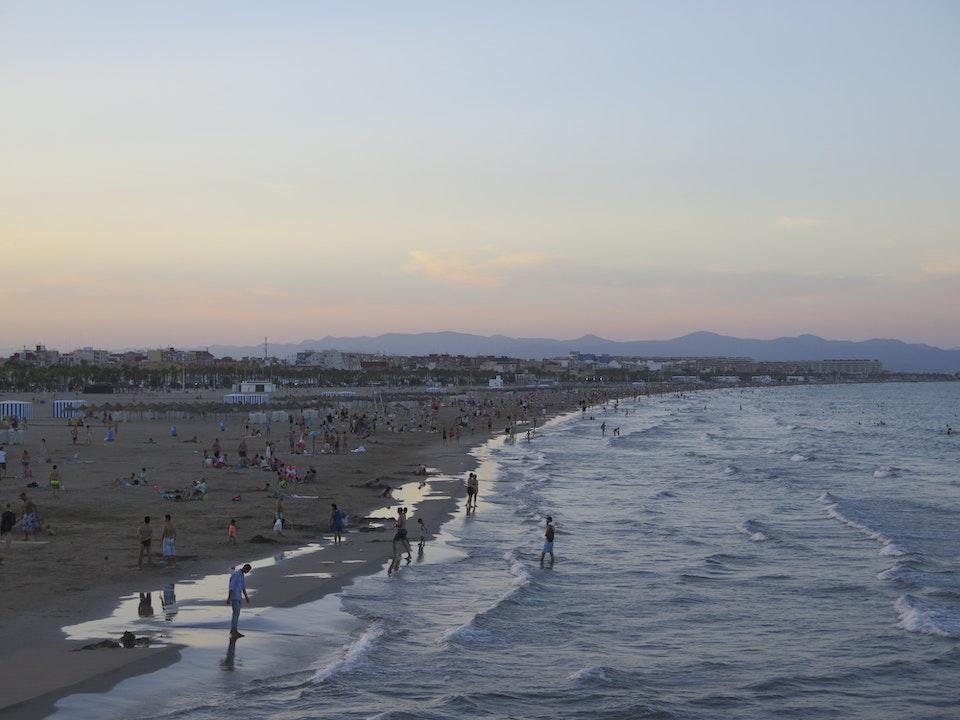 El Cabanyal Beach (Las Areans)
