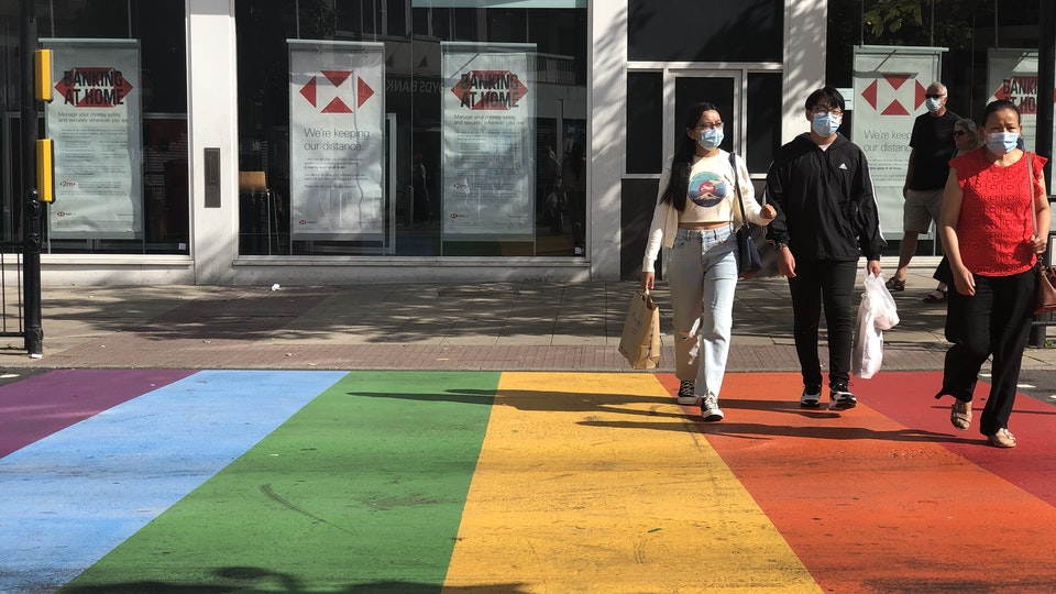Pride Crosswalk