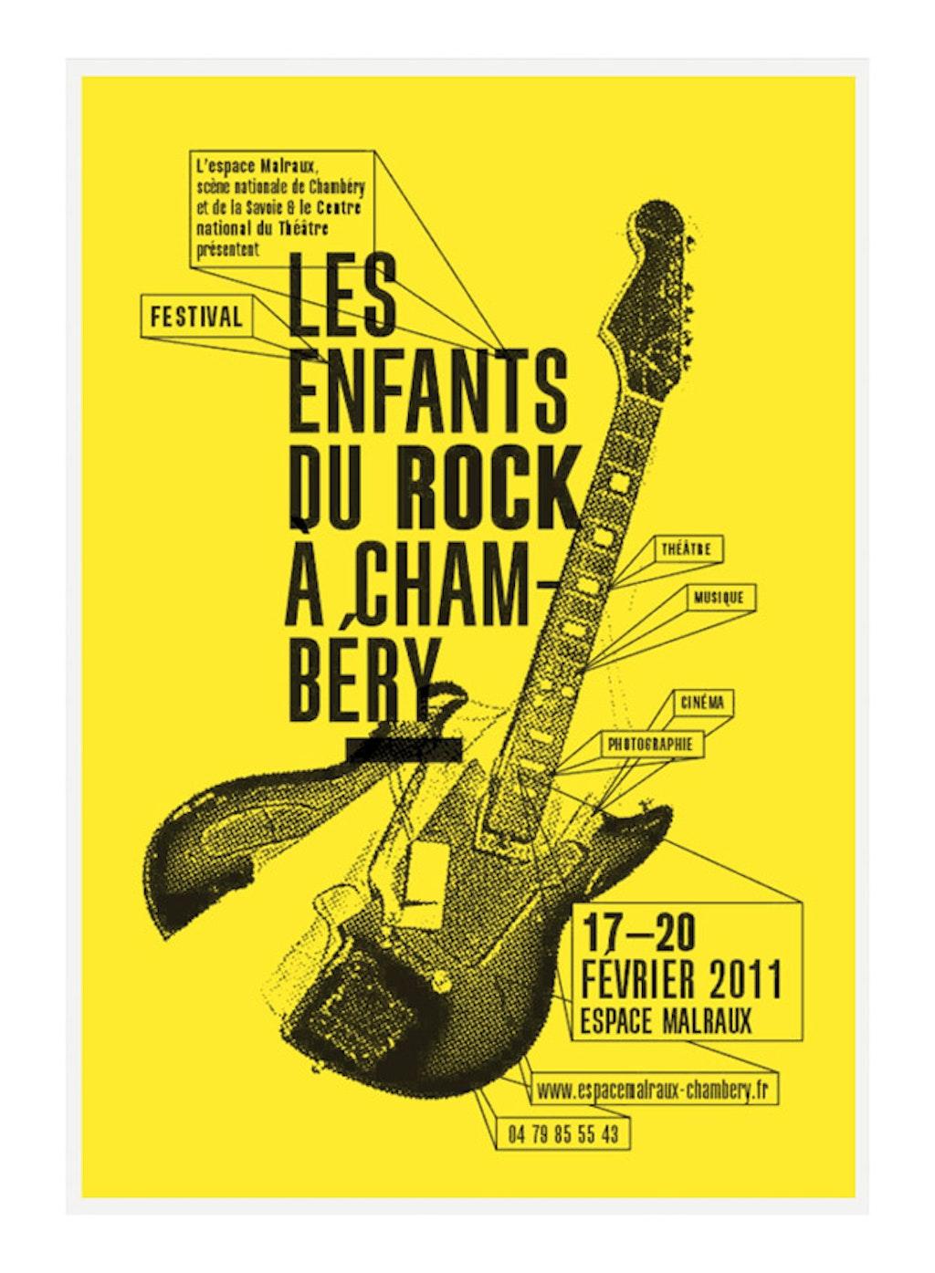 """festival """"Les enfants du rock à Chambéry"""""""