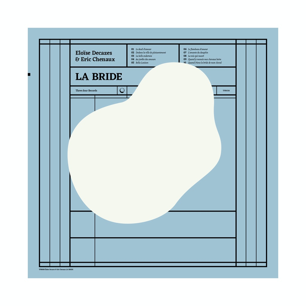 "Eloïse Decazes & Eric Chenaux ""La bride"" (three:four records)"
