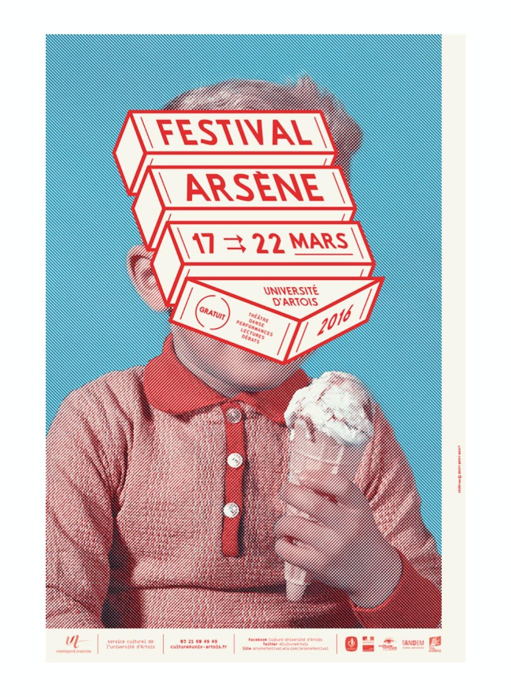 festival Arsène 2016 (Université d'Artois)