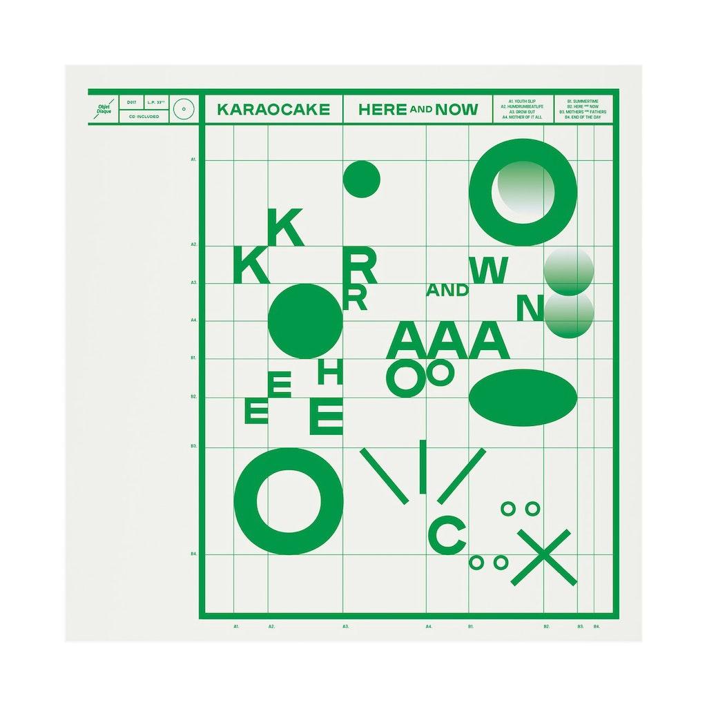 "Karaocake ""Here & now"" (Objet Disque)"
