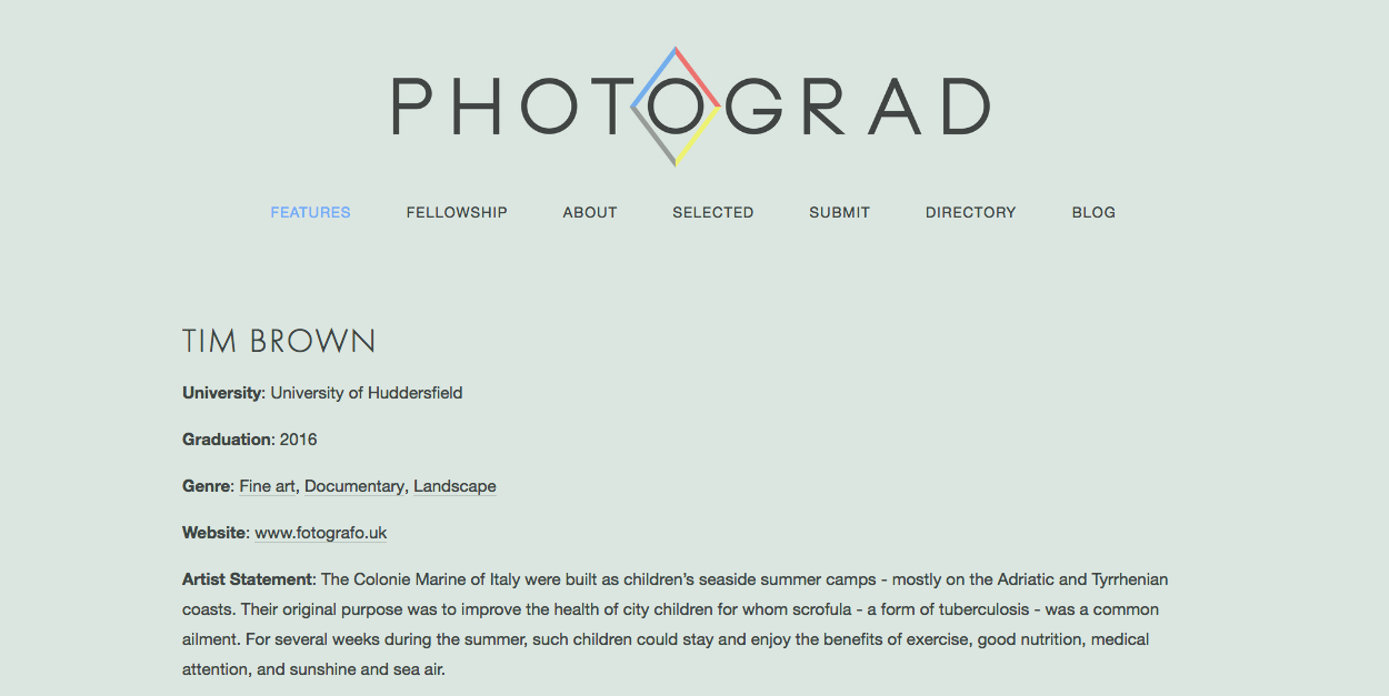 Photograd feature