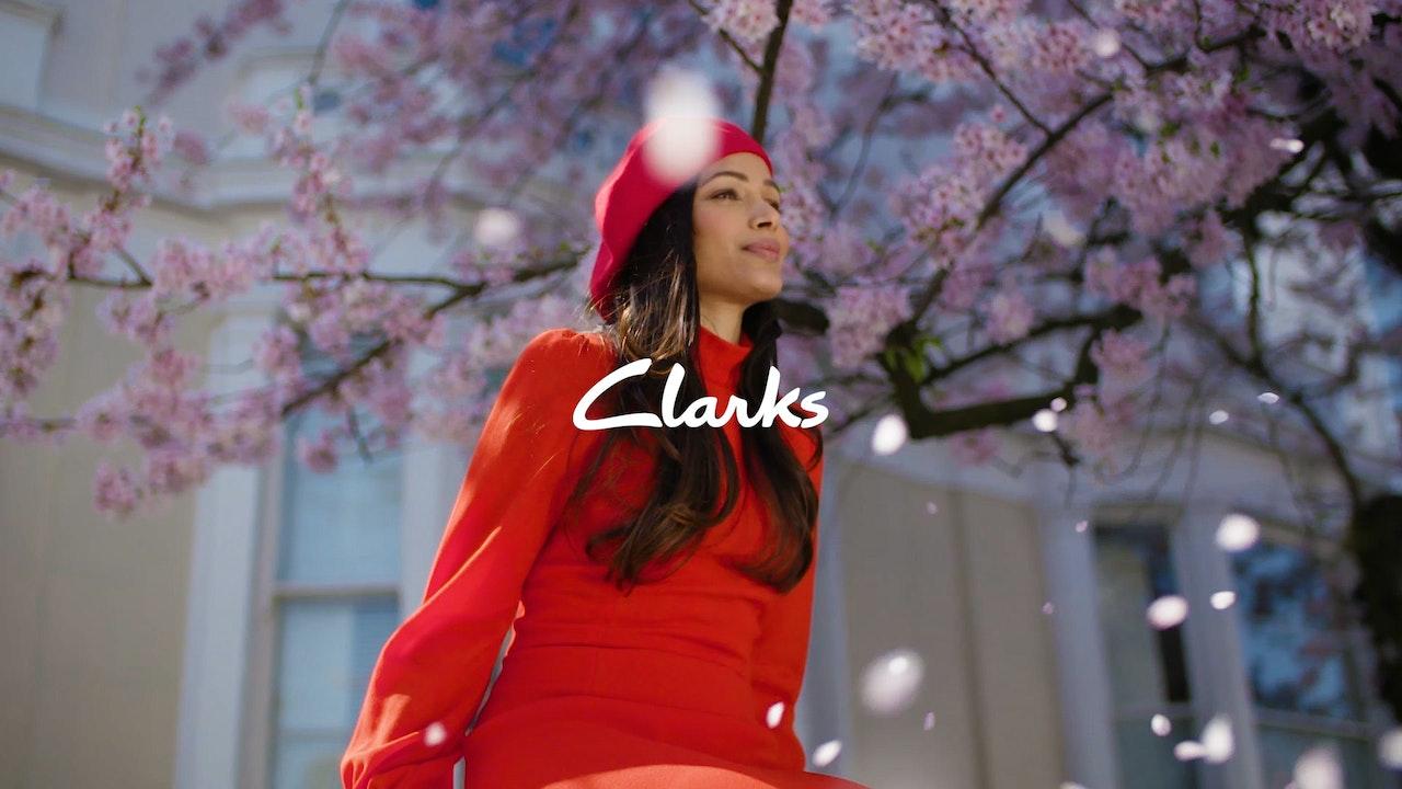 Clarks Shoes // Frieda Pinto