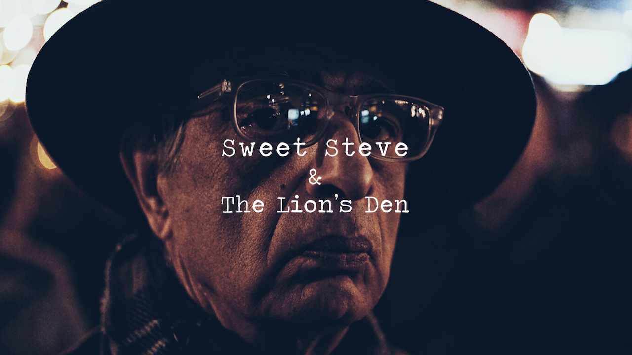 Short Film: Sweet Steve & The Lion's Den