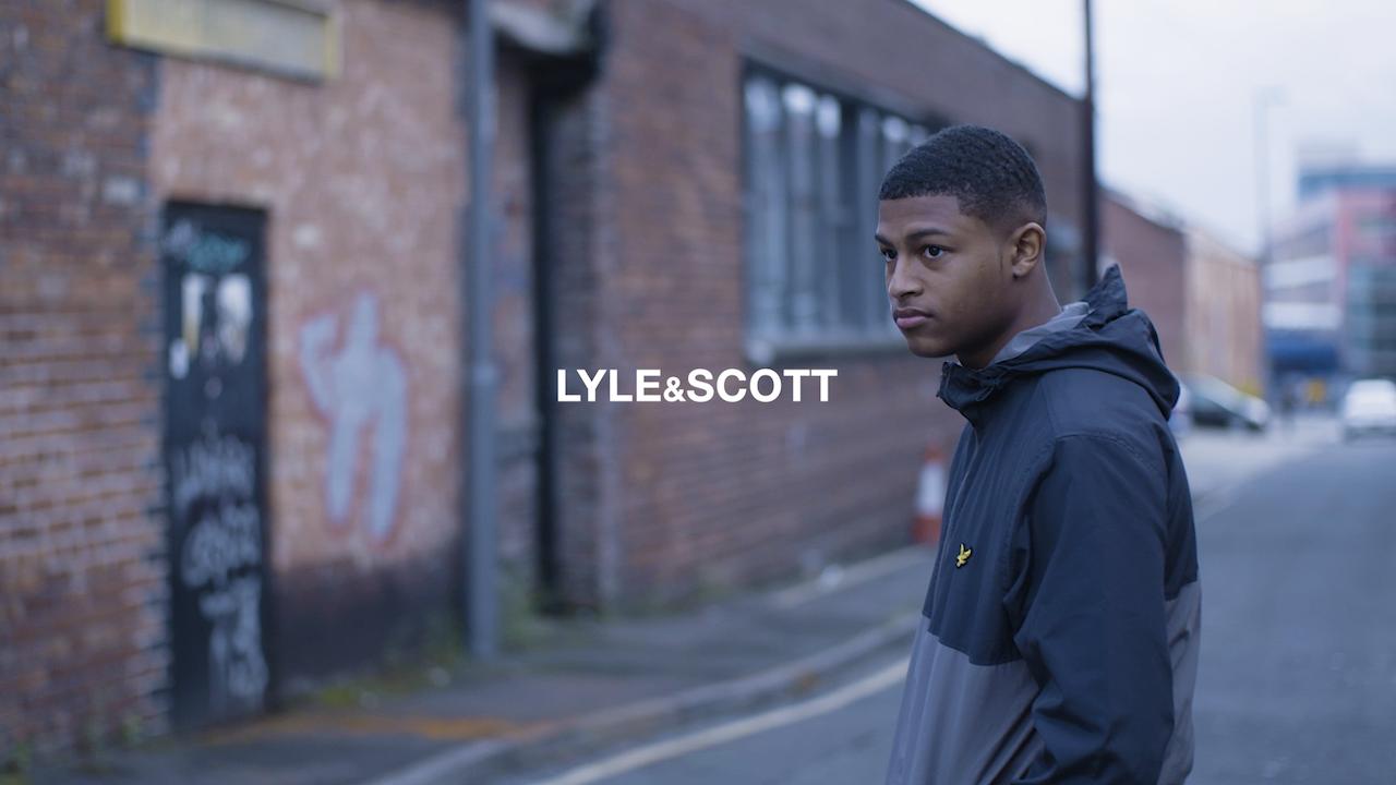 Lyle & Scott // Rhian Brewster