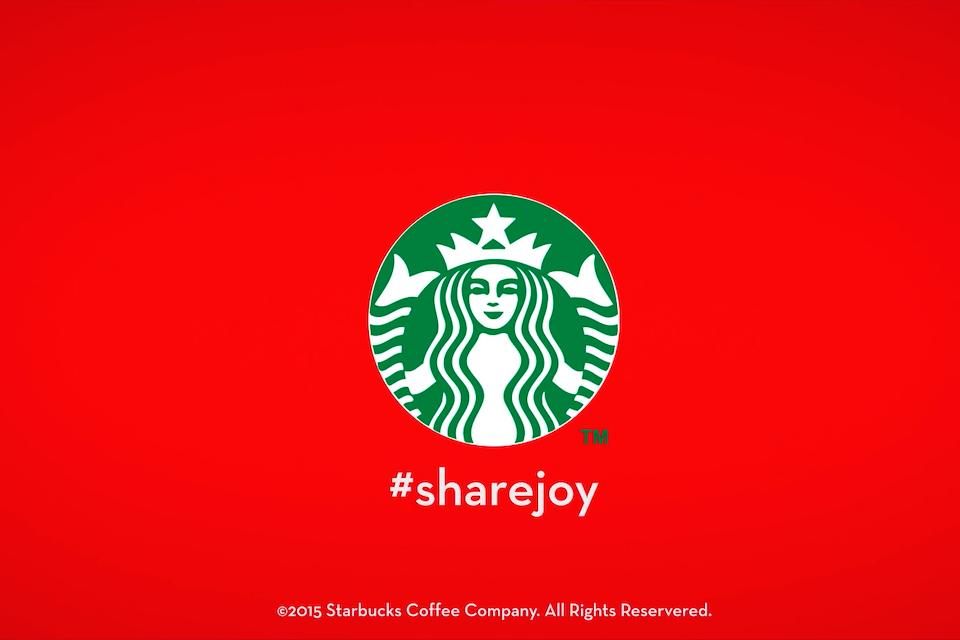 Director's cut: Starbucks Sharejoy