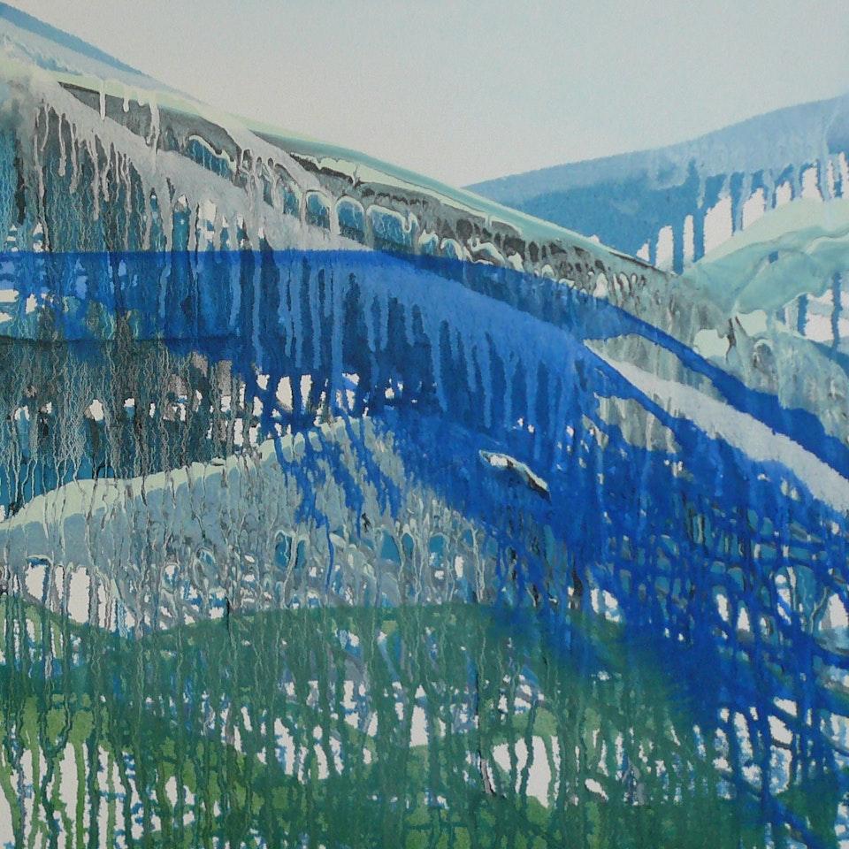 2010 Breathe, 18x18 oil on canvas