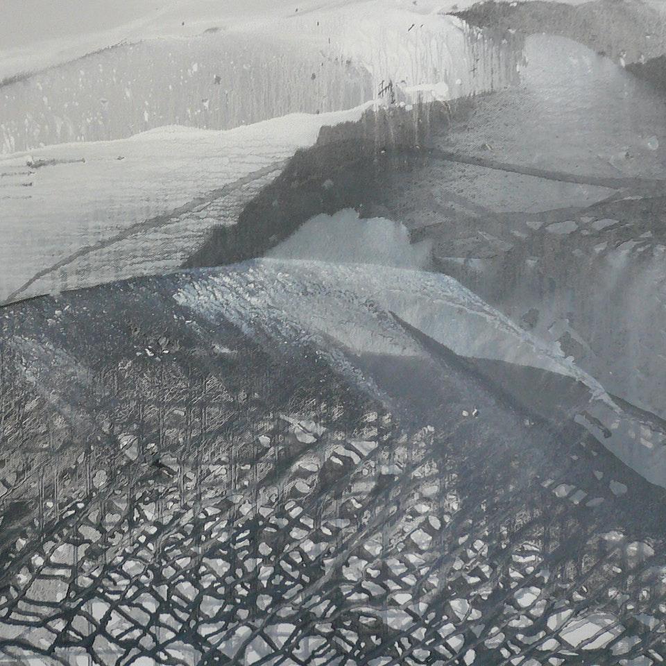 2010 Double Black Diamond, 20x30, oil on canvas
