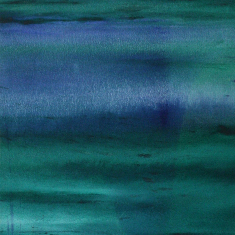 2006-2008 From Shore, 48x17, oil on canvas