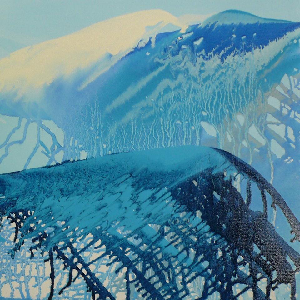 2010 High, 18x18 oil on canvas