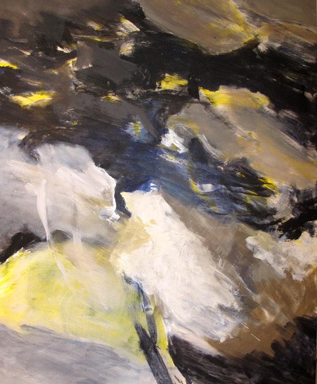Gruvelys - Gruvelys Disse bildene er alle 140 x 115 cm og malt med egg-olje-tempera på lerret.