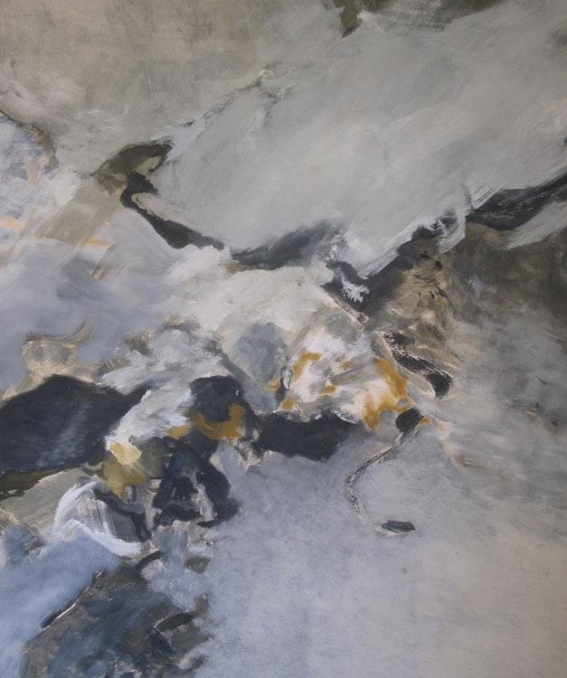 """Opera - Opera Med turer i den praktfulle naturen på Hillesøy, Svalbard, Senja og Tromsø og atelierplass på """"Kysten"""" ble jeg etter tre uker ferdig med følgende tre maleri. Alle er 140 x 115 cm og malt med egg-olje tempera på lerret."""
