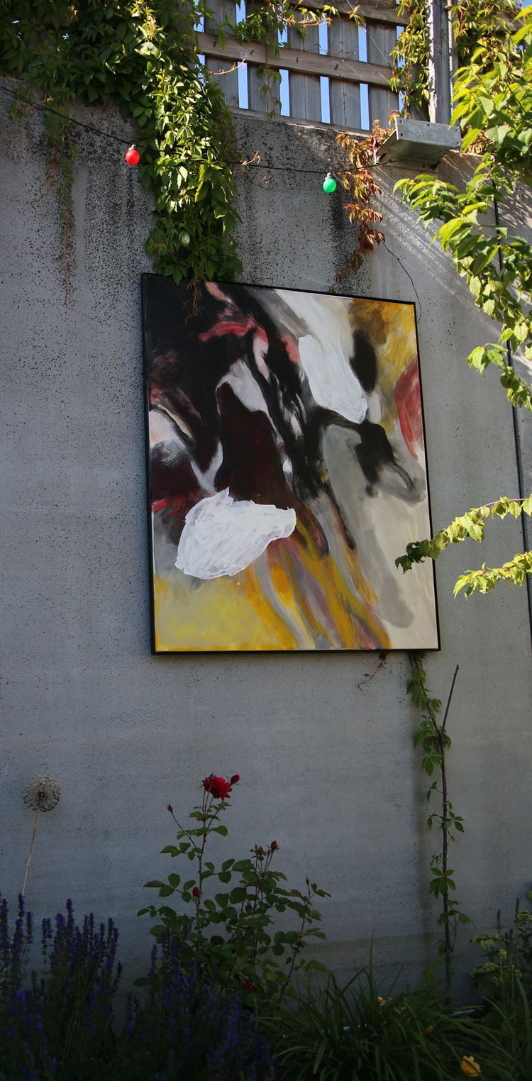 Silo og maleri 1 - Silo og maleri 1