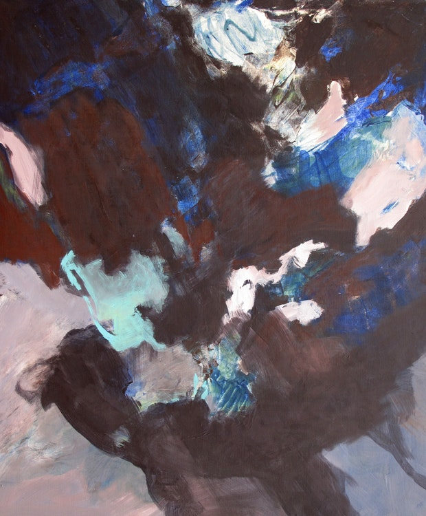 Nedsunket - Nedsunket Format 140 x 115 cm