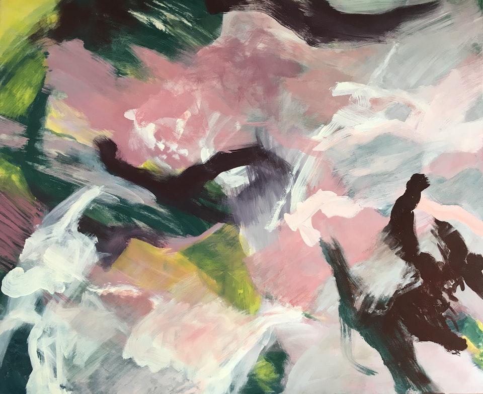 FullSizeRender - Krem2 Dette er malt på mitt atelier i Hakadal. Format 140 x 115 cm.