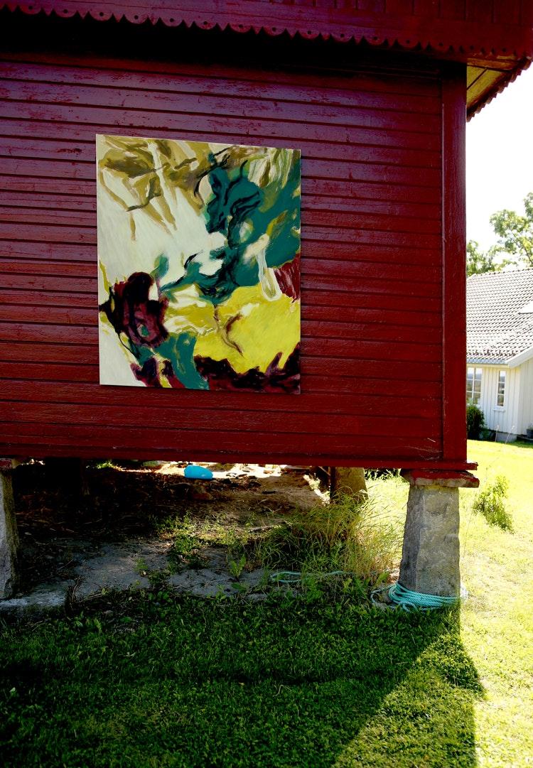stabbur og maleri - Stabbur og maleri