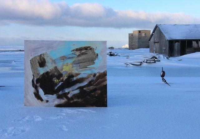 bilde5web - Bilde 5 mot Renseverket Samspill mellom form og farge - ny historie mot den gamle.