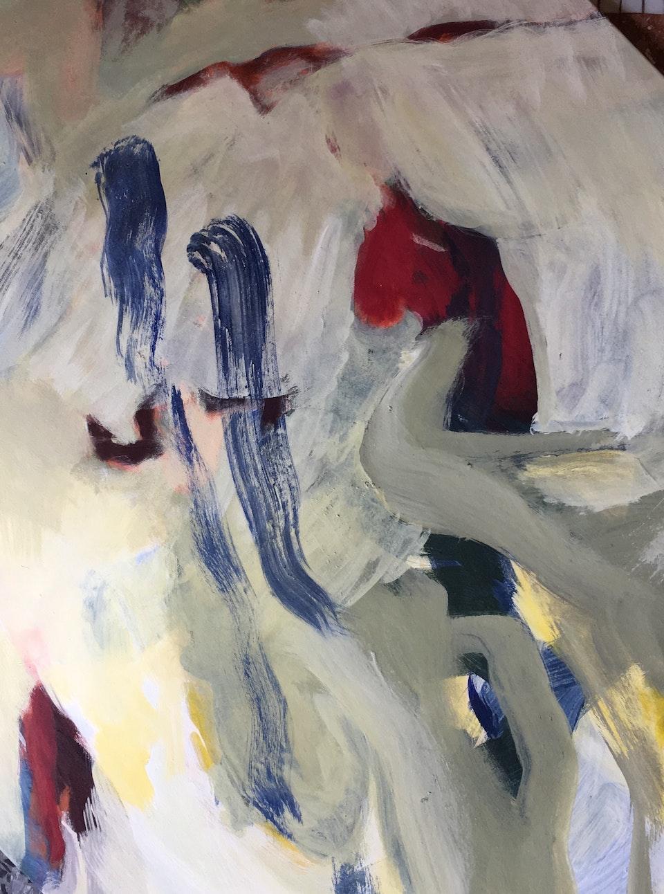 Maleri 1 - 130 x 97 cm Tivoli 2018