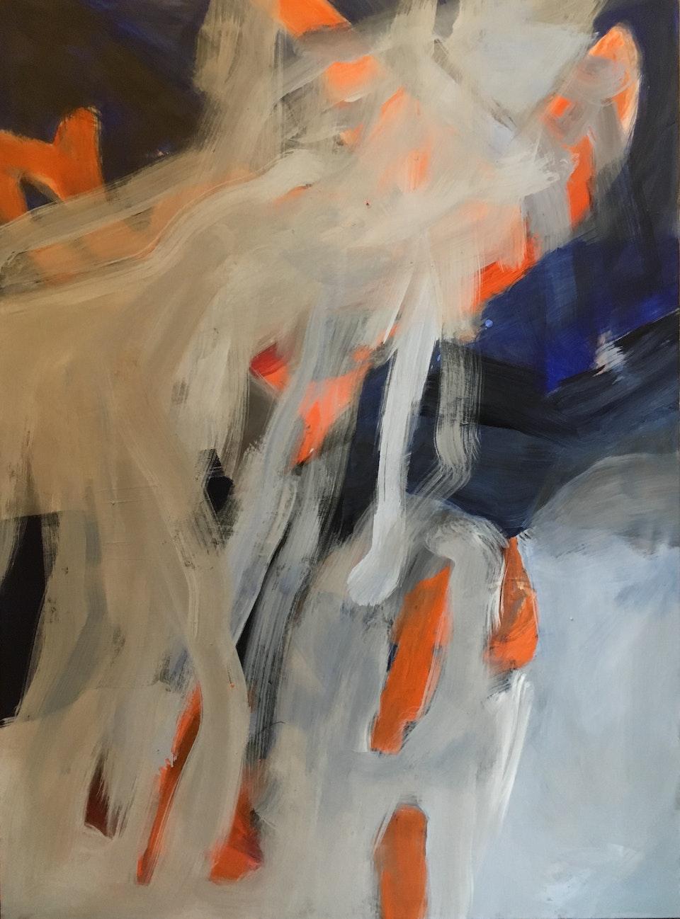 Maleri 6 - 130 x 97 cm Tivoli 2018