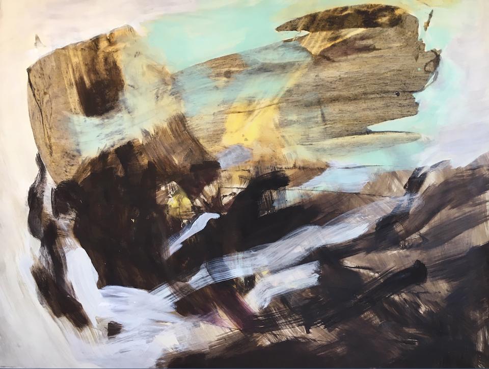 Skjermbilde 2020-08-31 kl. 13.59.11 - Kullrensing 140 x 115 cm, malt i Ny-Ålesund
