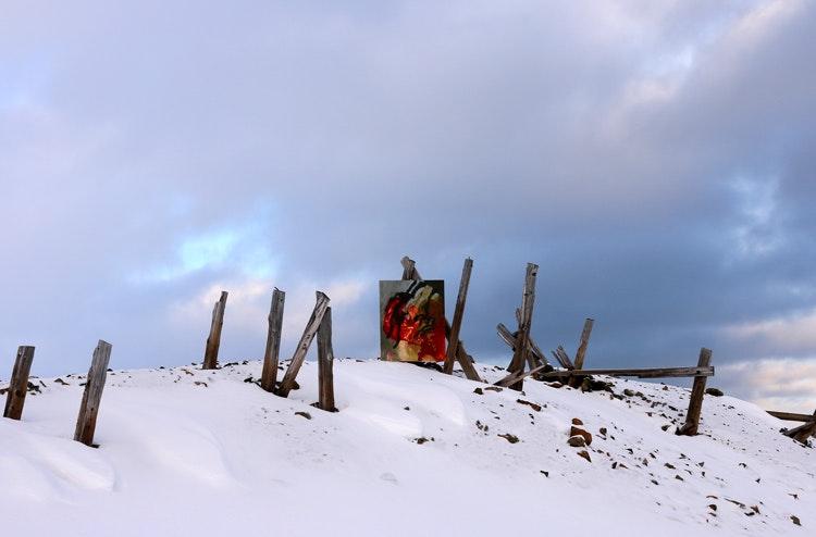 Bilde2gruve3 - Bilde 2 ved gruvene  Majestetisk.
