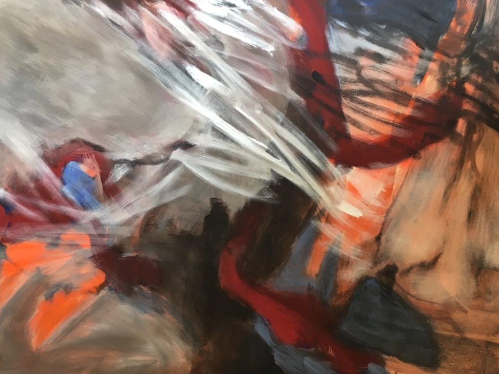 Painting in Tivoli, Italy