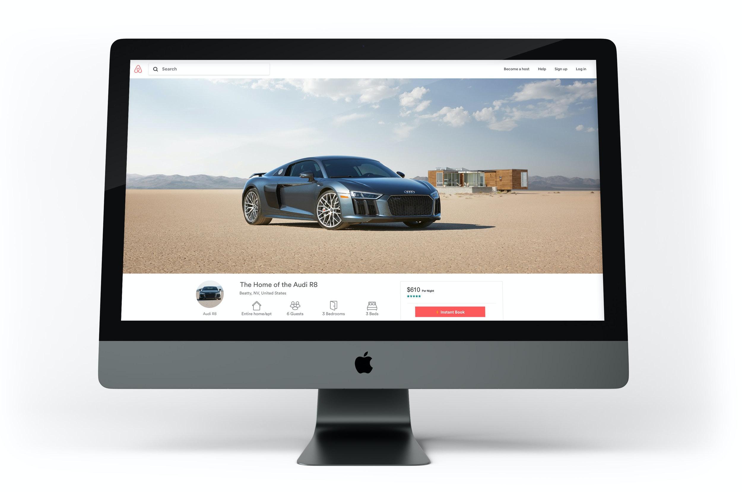 Matt Miller - Audi_Desolation_Airbnb_Mock