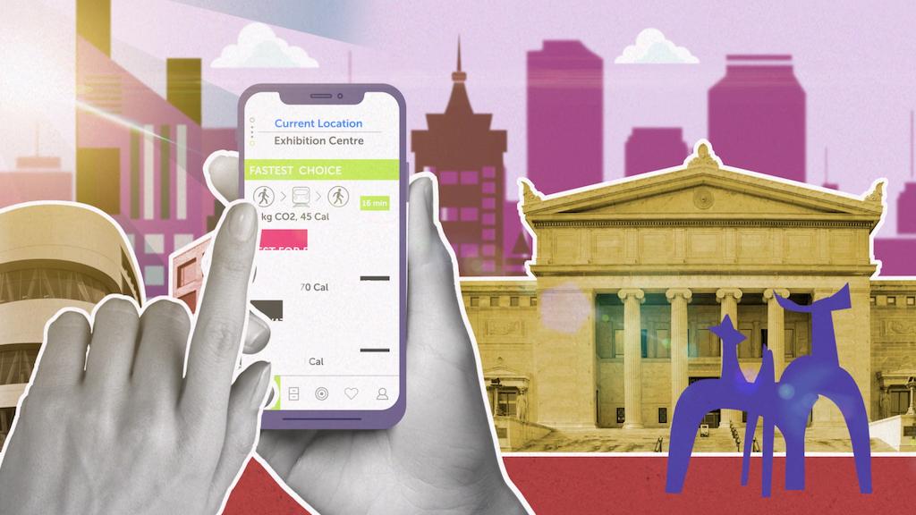 Mobile Transport App Explainer