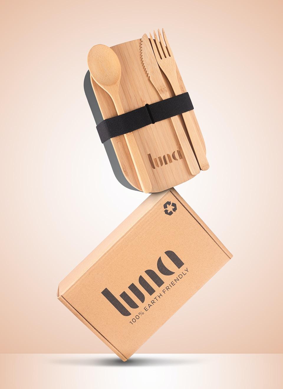 Luna Bamboo Box