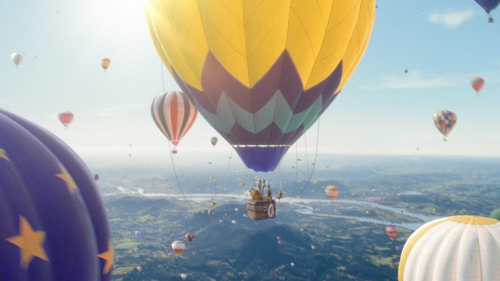 Perrier - Balloons