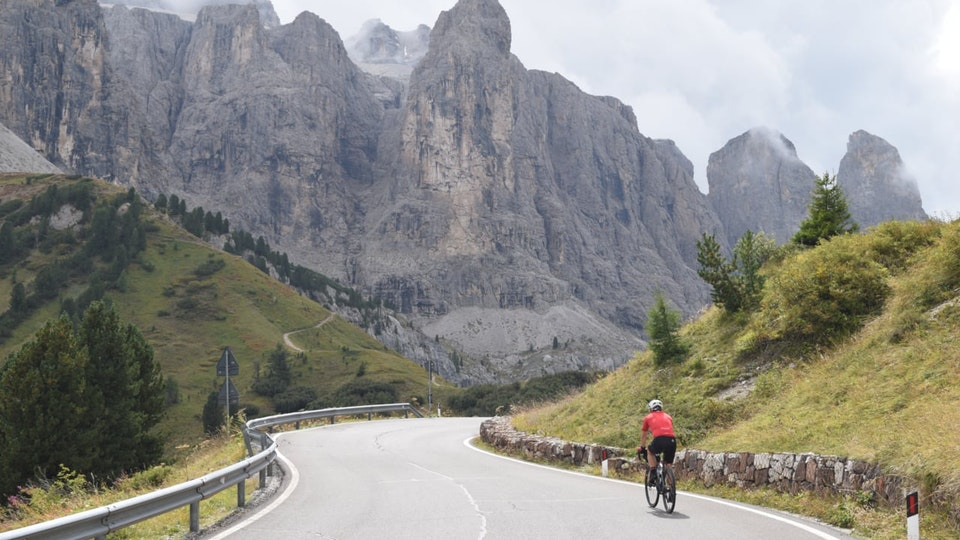 Road biking in Alps with BIKO Adventures