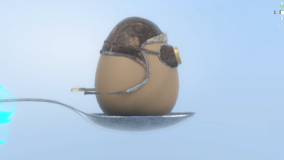 Egg and Spoon Race, Concept - Mixed Reality and AR/VR