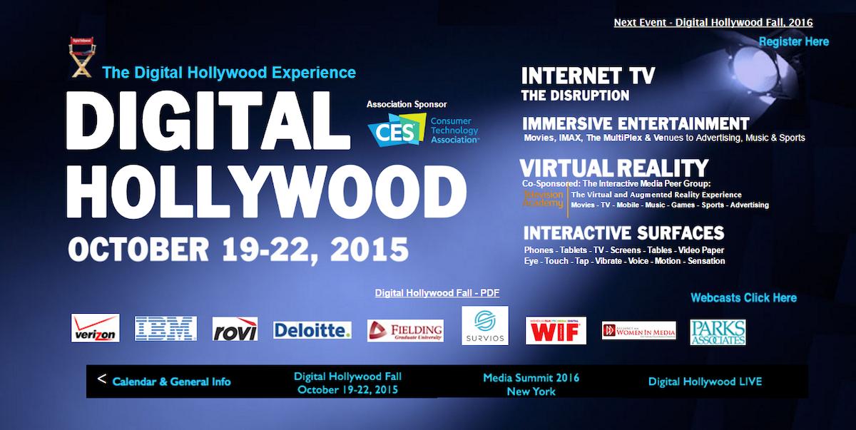 Digital Hollywood Conference