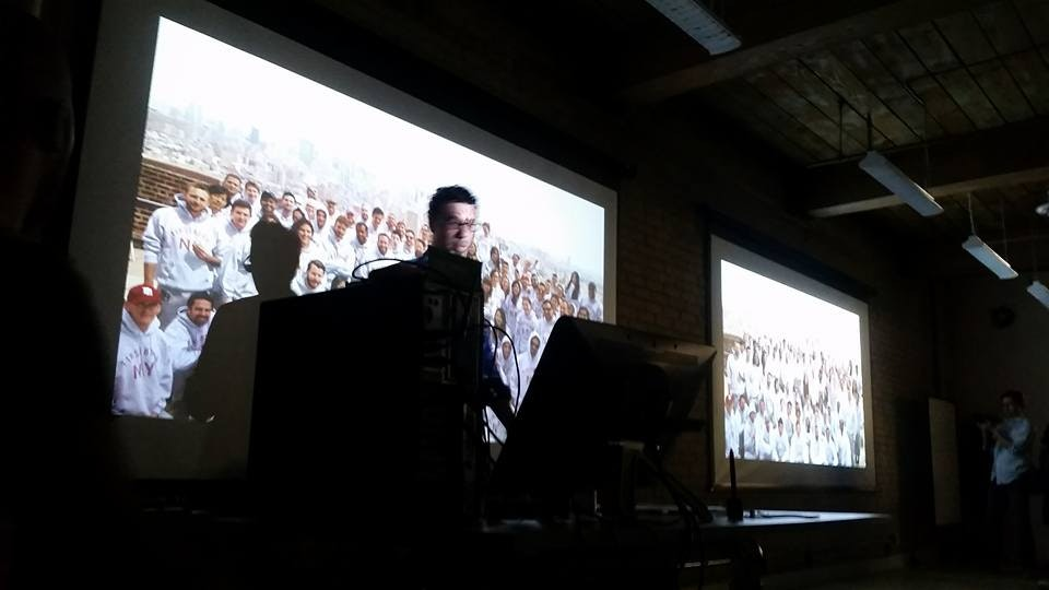 Cut and Paste in Toronto - 45 minute talk on Art of patron