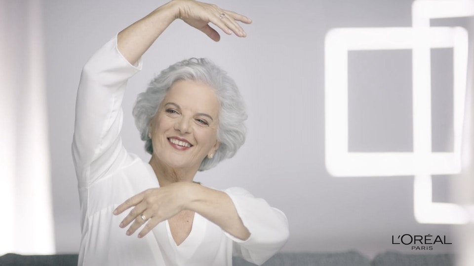 "L'Oréal ""Age Perfect"" Lidia Franco"