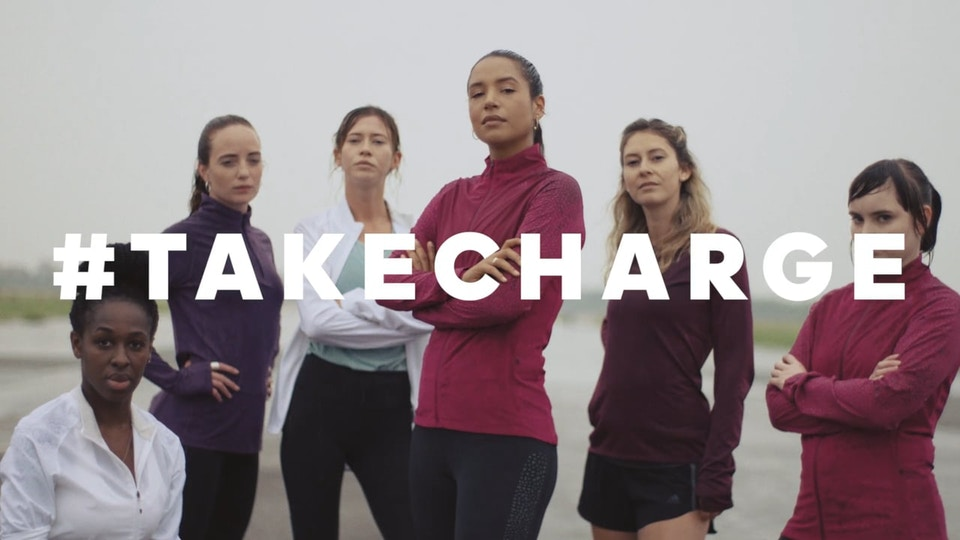 adidas Running // #TAKECHARGE