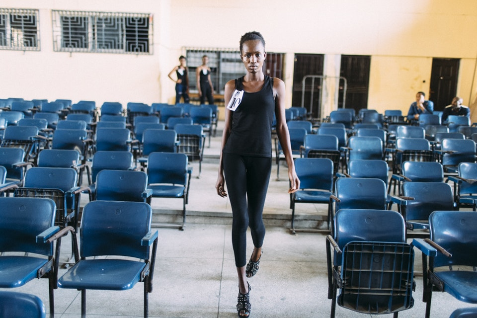 Model scouting in nigerian universities.