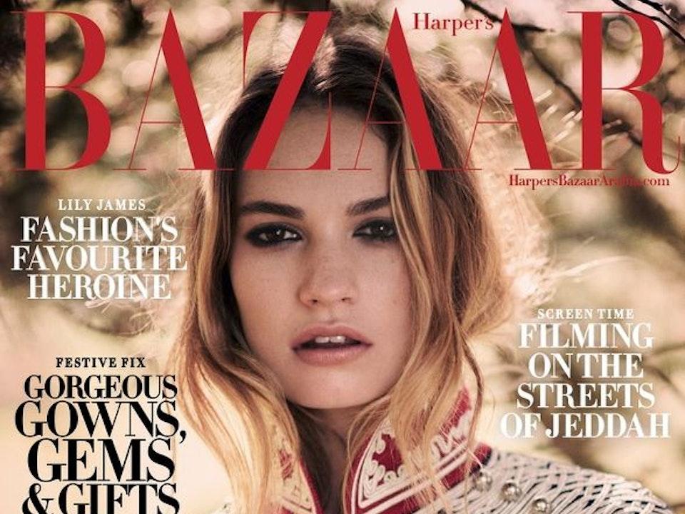 Harper's Bazaar - David Burton