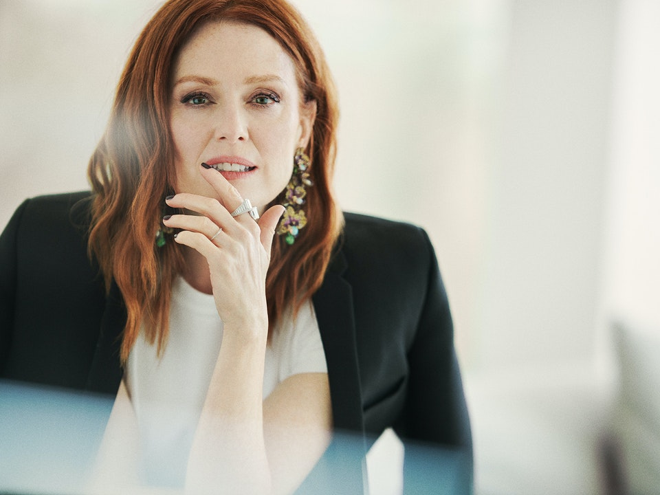 Grazia - Julianne Moore - David Burton