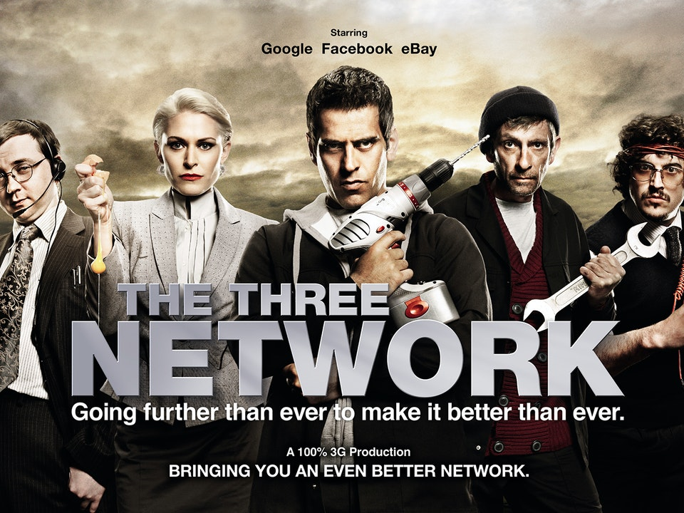 Three Network - Mitch Jenkins