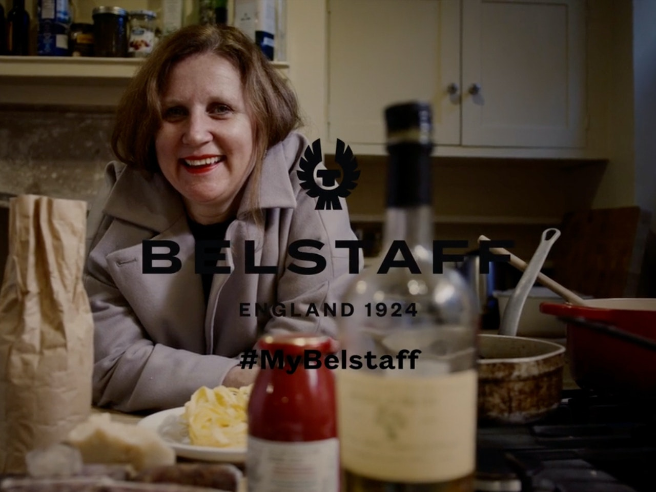 Belstaff Angela Hartnett - David Burton -