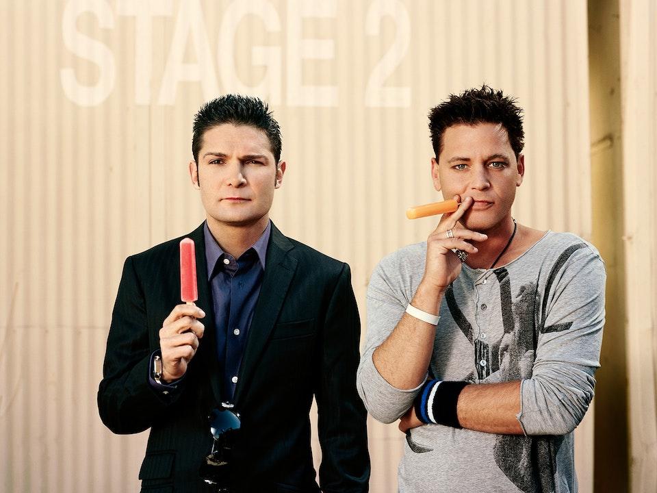 A&E - The Two Coreys - Mitch Jenkins
