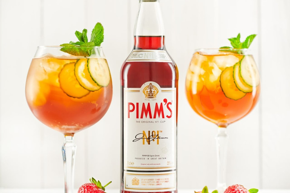 Diageo | PIMM'S Summer '18 Pimm's Spritz Recipe