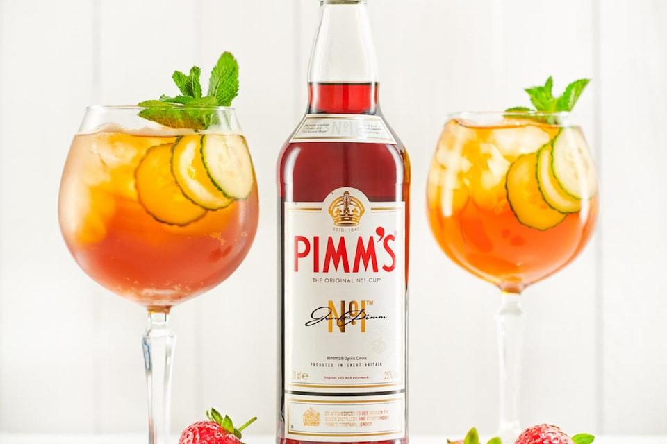 Diageo: PIMM'S Summer '18 Pimm's Spritz Recipe